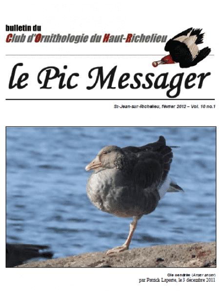 Le Pic Messager février 2012