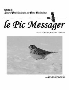 Le Pic Messager février 2010