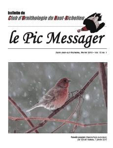 Le Pic Messager février 2015