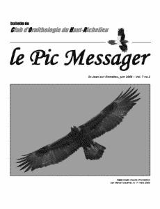 Le Pic Messager Juin 2009