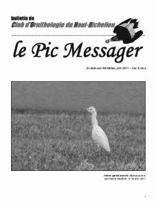 Le Pic Messager Juin 2011
