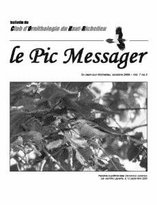 Le Pic Messager octobre 2009
