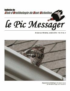 Le Pic Messager octobre 2012