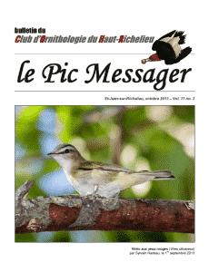 Le Pic Messager octobre 2013